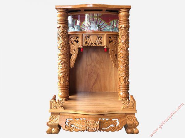 Bàn thờ ông địa thần tài gỗ gõ đỏ OD030