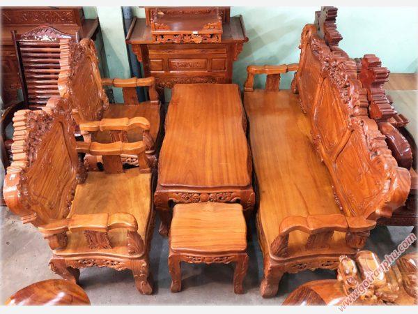 Bộ bàn ghế Salon gỗ