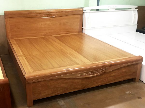 Giường ngủ gỗ đinh hương dát phản 1m6 – 1m82m (5)