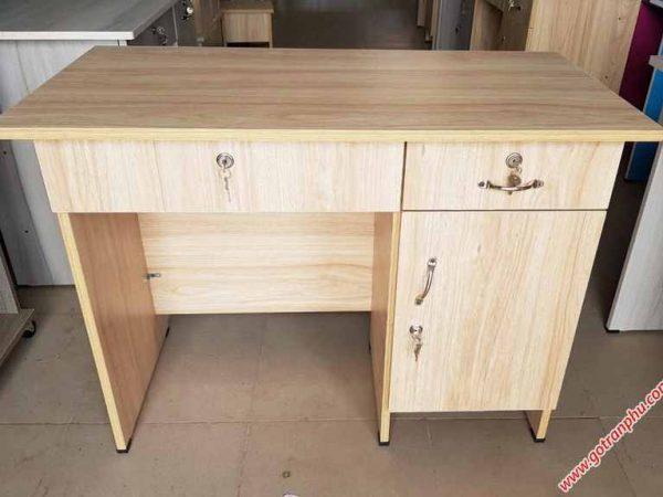 P259 BL001 Bàn làm việc gỗ melamine 3 ngăn tủ (2)