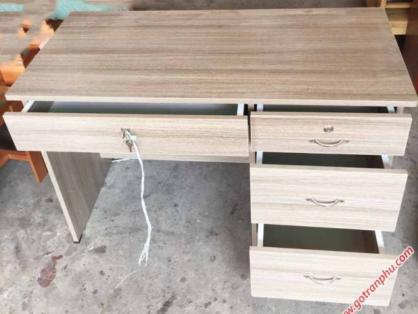 P260 BL003 Bàn làm việc gỗ melamine hiện đại 1m (3)