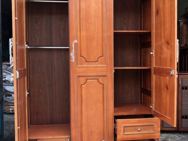 Tủ áo gỗ còng 3 cánh ngang 1,4m - TA116
