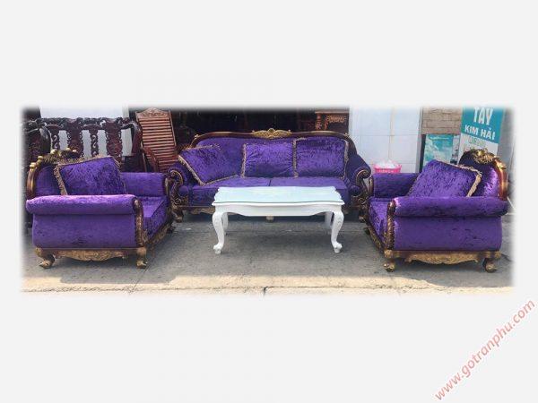 Bộ Sofa Nữ Hoàng Nhập Khẩu Cao Cấp SF001