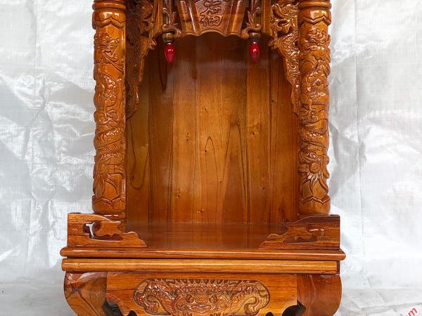 Bàn thờ ông địa thần tài gỗ xoan đào OD001 (6)
