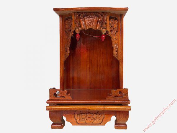 Bàn thờ ông địa thần tài gỗ xoan đào OD002 (11)