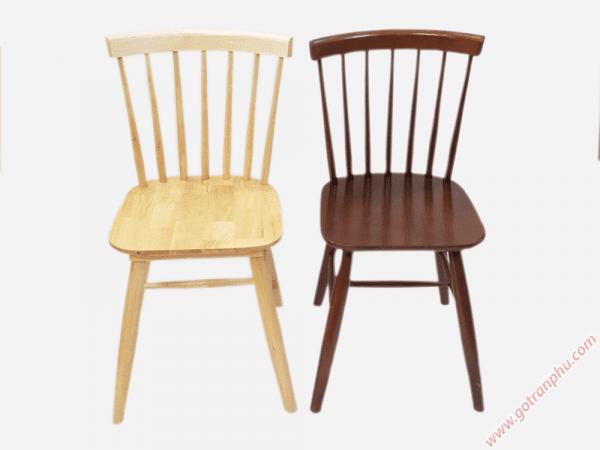 Ghế bàn ăn gỗ cao su cao cấp (không nệm) GH016 - GH017 (3)