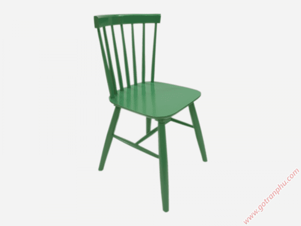 Ghế bàn ăn gỗ cao su cao cấp (không nệm) nhiều màu (1)