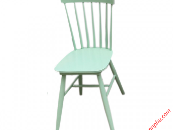 Ghế bàn ăn gỗ cao su cao cấp không nệm nhiều màu sắc (4)