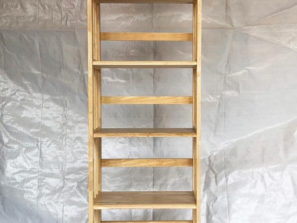 Kệ sách gỗ cao su 5 tầng màu gỗ tự nhiên ngang 65cm KS016 (5)