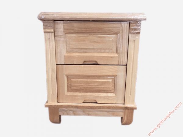 Tủ đầu giường gỗ sồi gỗ tự nhiên (46cmx40cmx60cm) (1)