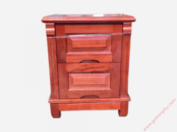 Tủ đầu giường gỗ xoan đào gỗ tự nhiên (46cmx50cmx60cm) (1)