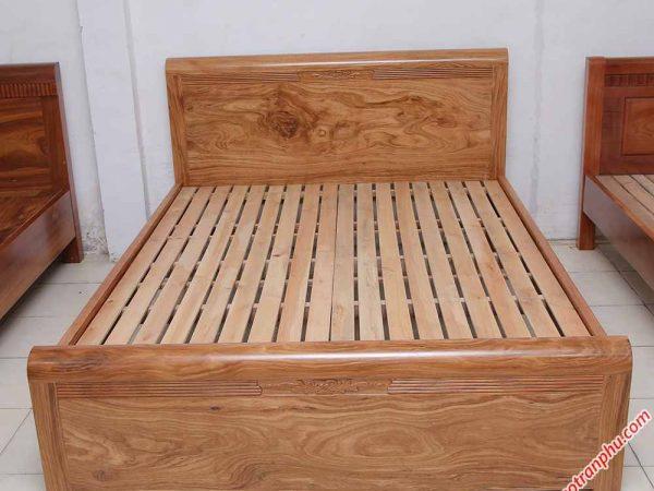 Giường ngủ gỗ hương xám vạt thường (1m6 - 1m82m) (6)