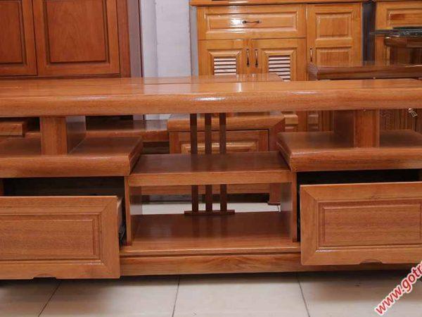 Kệ tivi gỗ đinh hương kiểu nhật 1m4 - 1m6 - 1m8 (3)