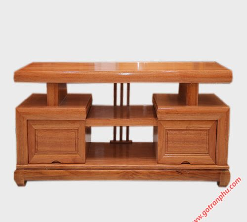 Kệ tivi kiểu Nhật gỗ đinh hương