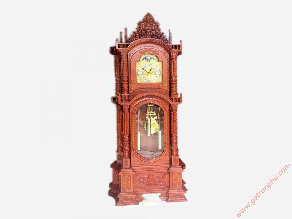 Đồng hồ tháp gỗ cẩm lai (7)