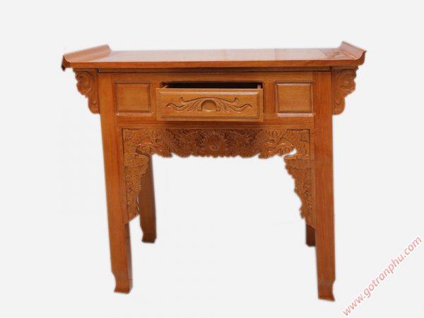 Bàn cúng bằng gỗ căm gõ ngang 1m07 - 1m27 - 1m37 - 1m54 (1)
