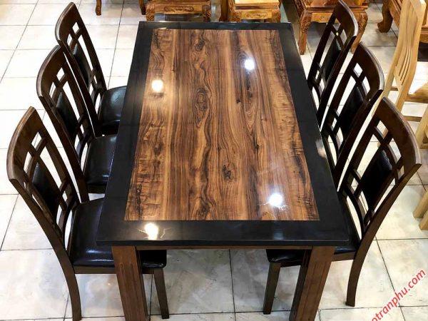 bàn ăn bằng gỗ tự nhiên