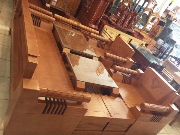 Bộ sofa thùng gỗ bích 7 món SF023 (3)