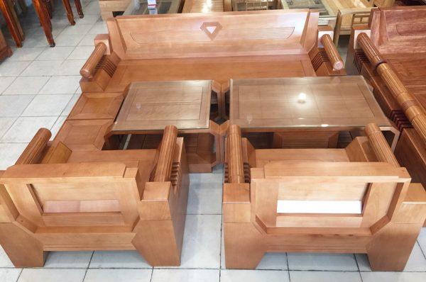 Bộ sofa thùng gỗ bích 7 món SF023 (4)