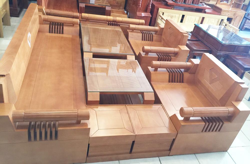 Bộ sofa thùng gỗ bích 7 món SF023 (5)