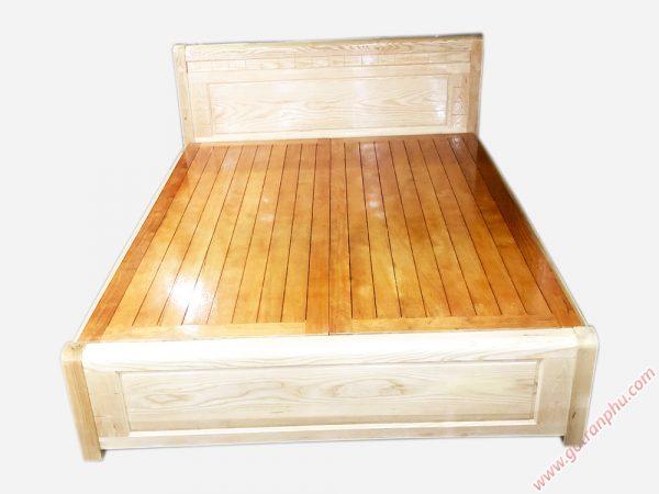 Giường ngủ gỗ sồi có hộc kéo 1m6 - GI049 (1)