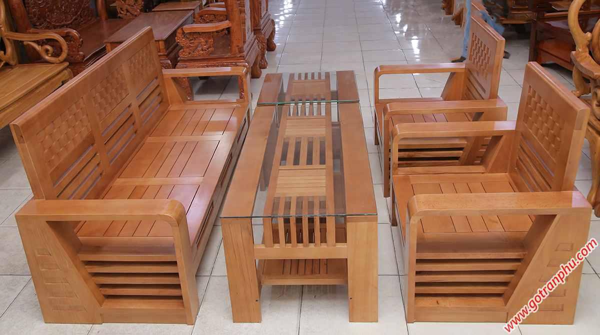 Sofa thùng gỗ bích SF009 (2)