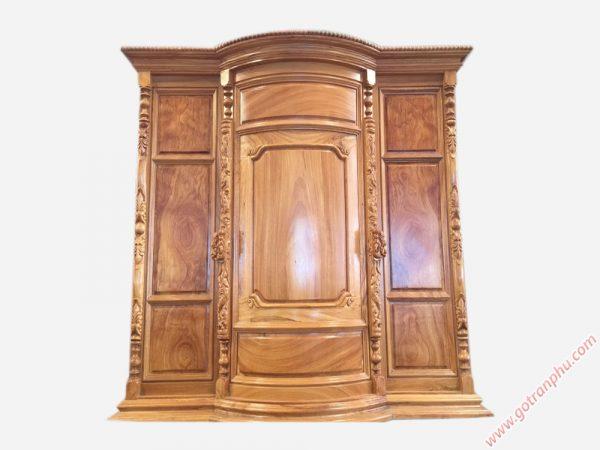 Tủ thờ gỗ gõ đỏ Lào 100% 1m6 TT014 (1)