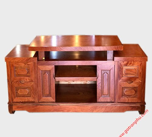 Kệ tivi gỗ hương đá 1m6-1m8-2m