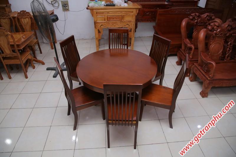 bàn ăn gỗ tự nhiên