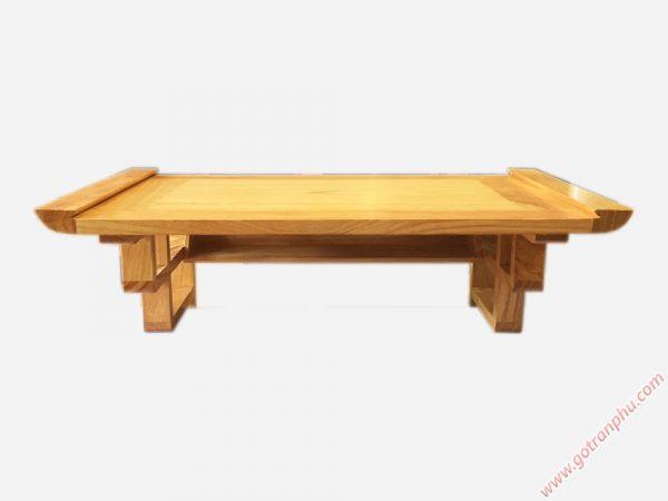 Mâm treo tường gỗ gõ đỏ trơn ngang 80cm - 1m07 (5)