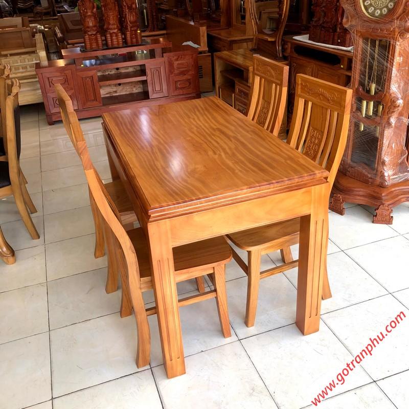bàn ăn đẹp gỗ tự nhiên