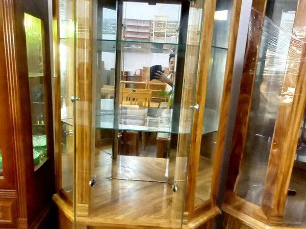 Tủ rược gỗ Hương xám TR005 (4)