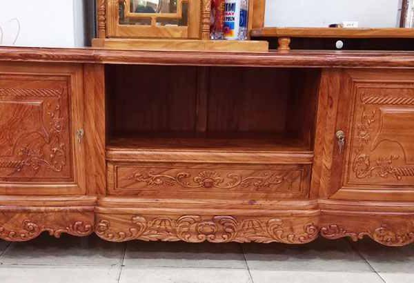 Kệ tivi gỗ cẩm lai kiểu nhật 1m8 - 2m - 2m2 (3)