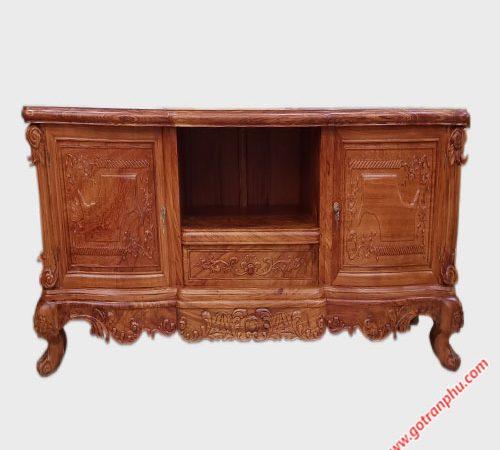 Kệ tivi gỗ cẩm lai kiểu nhật