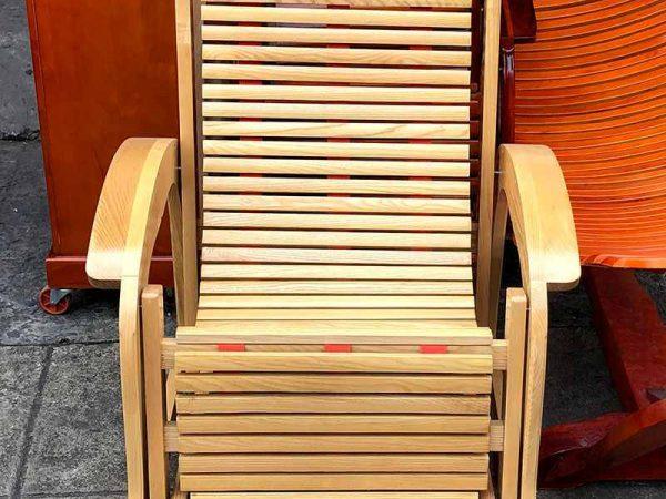 Ghế nằm thư giãn gỗ sồi GH020 (1)