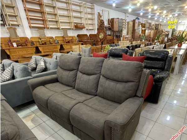 Ghế sofa thư giãn điện 3 chỗ GH042 (2)