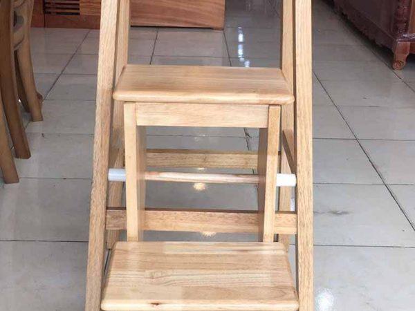 Ghế thắp nhang 3 bậc xếp gỗ cao su GH037 (3)