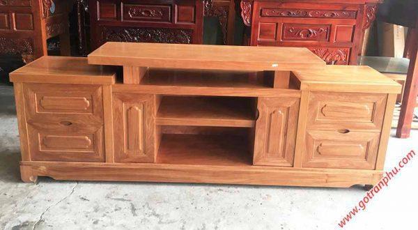 Kệ tivi gỗ Đinh Hương 1m6 - 1m8 -2m (4)