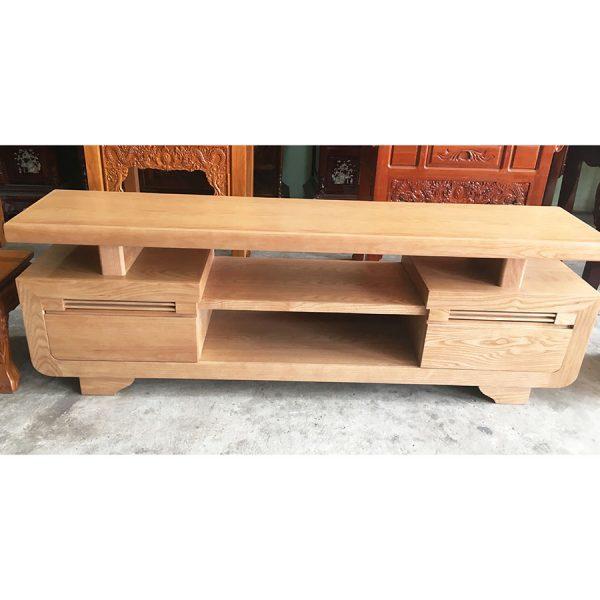 Kệ tivi gỗ sồi Mỹ 1m6 - 1m8 -2m (5)