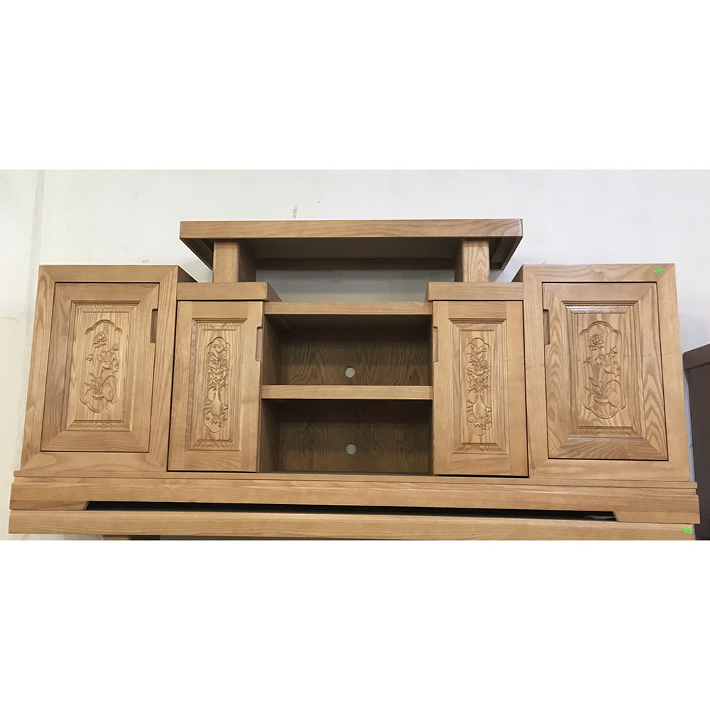 Kệ tivi gỗ sồi Mỹ 1m6 - 1m8 -2m (6)
