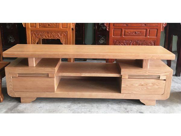 Kệ tivi gỗ sồi Mỹ 1m6 - 1m8 -2m (7)