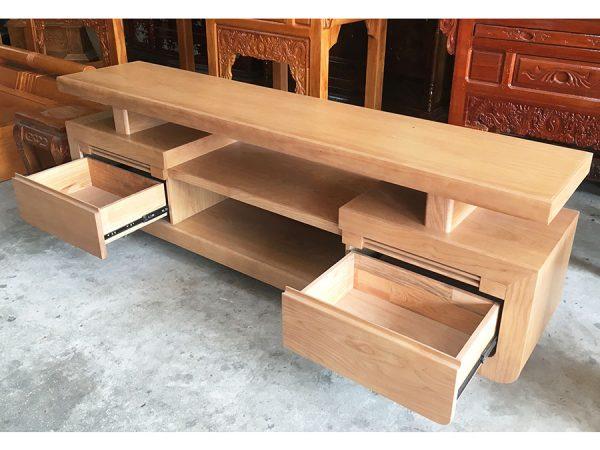 Kệ tivi gỗ sồi Mỹ 1m6 - 1m8 -2m (9)