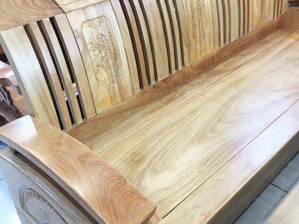 Sofa thùng gỗ gõ đỏ (Hùng Công) (3)