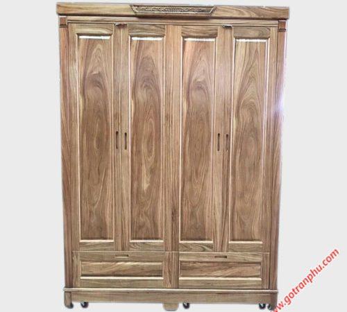 Tủ quần áo hương xám 1m8 TA055 (2)