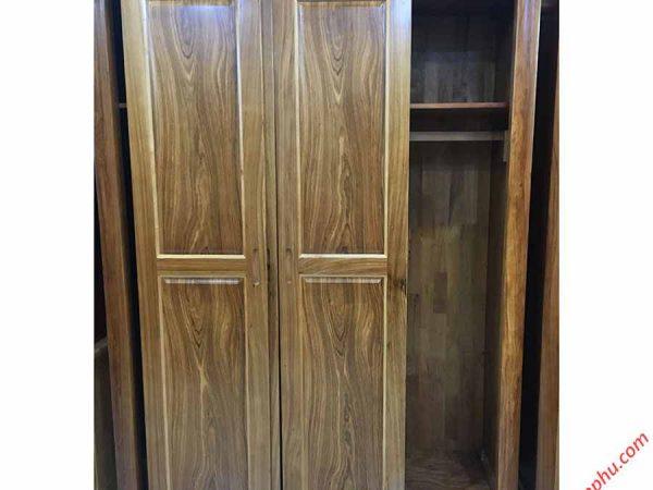 Tủ quần áo hương xám cửa lùa 1m6 TA058 (3)