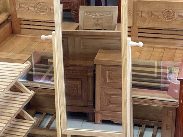 Gương soi toàn thân gỗ cao su BT024 (11)