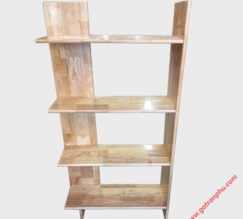 Kệ góc tường gỗ cao su 4 tầng KS039-40 (3)