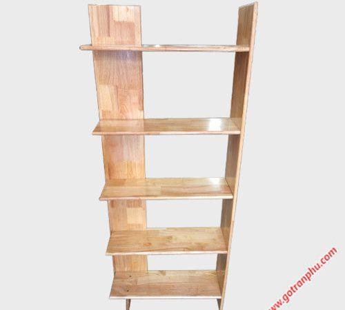 Kệ góc tường gỗ cao su 5 tầng KS041-42 (5)
