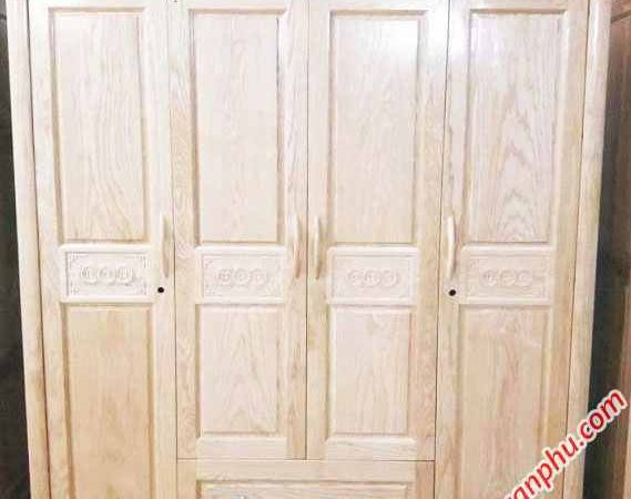 Tủ quần áo gỗ Sồi 1m8 - 2m TA016-017 (1)