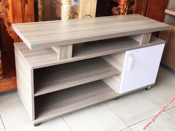 Kệ tivi gỗ Melanine 1m2 KT057 (2)